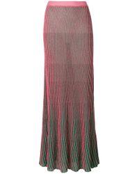 L'Autre Chose - Ribbed Skirt - Lyst