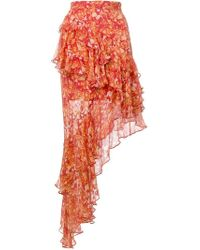 Hemant & Nandita - Dawn Asymmetrical Skirt - Lyst