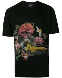 John Richmond - Printed T-shirt - Lyst