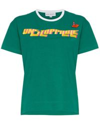 Mira Mikati - Unstoppable Embroidered Cotton T Shirt - Lyst