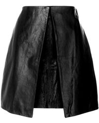 AALTO - Mini Layered Skirt - Lyst