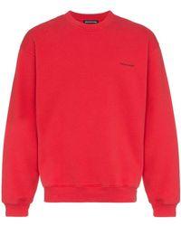Balenciaga - Copyright Logo Print Sweatshirt - Lyst
