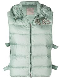 Ermanno Scervino - Sleeveless Puffer Jacket - Lyst