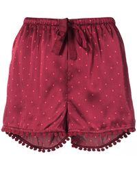 Figue - Maja Polka-dot Shorts - Lyst