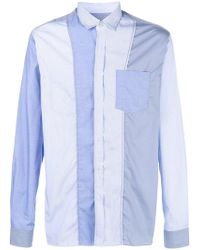Lanvin - Patched Shirt - Lyst