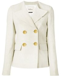 Mulberry - Double-breasted Blazer - Lyst