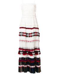 3.1 Phillip Lim - Striped Pleated Maxi Dress - Lyst