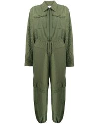 Lala Berlin - Military Style Jumpsuit - Lyst
