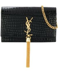 Saint Laurent - Kate Monogram Tassel Bag - Lyst