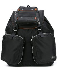 Lyst - Porter Tanker Quilted Satin-Canvas Backpack in Gray for Men a77573c2d5c49
