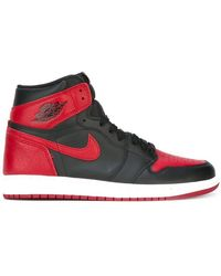 e90d0523f8 Nike - Air Jordan 1 Retro High Og Banned Sneakers - Lyst