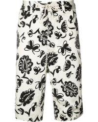 Junya Watanabe | Printed Bermuda Shorts | Lyst