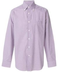 Canali | Checked Shirt | Lyst