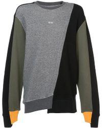 Mostly Heard Rarely Seen - Colour Block Sweatshirt - Lyst