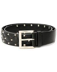 Valentino - Garavani Rockstud Quilted Belt - Lyst