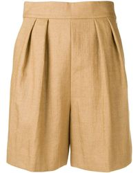 Theory Tapered Shorts - Brown