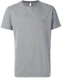Sun 68 - Contrast Logo T-shirt - Lyst