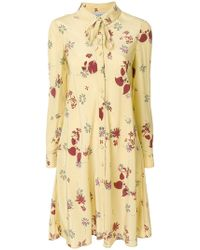 Valentino - Floral Dress - Lyst