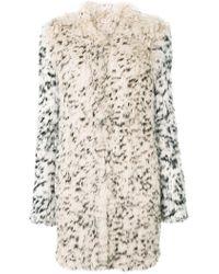 Ulla Johnson - Leopard Print Fur Coat - Lyst