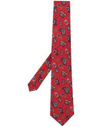 Etro - Corbata con estampado de cashmere - Lyst