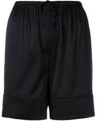 Totême  - Drawstring Fitted Shorts - Lyst