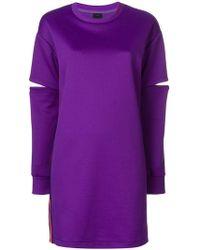 Pinko - Slit Sleeve Dress - Lyst