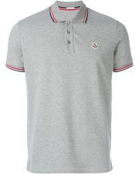 Moncler - - Classic Polo Shirt - Men - Cotton - Xxl - Lyst
