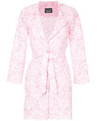 Boutique Moschino - Floral Pattern Jacket - Lyst