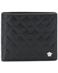 Versace - Quilted Wallet - Lyst