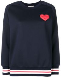 Anya Hindmarch - Heart Patch Sweatshirt - Lyst