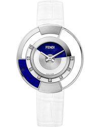 Fendi - Embellished Policromia Watch - Lyst