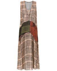 Mara Mac - Midi Printed Dress - Lyst