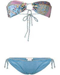Anjuna - Embroidered Bikini Set - Lyst