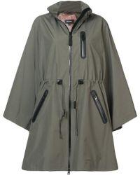Mackage - Oversized Fold-away Raincoat - Lyst