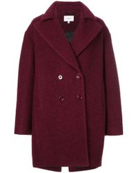 Carven - Oversized Fit Coat - Lyst