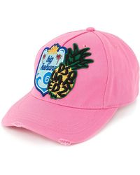 DSquared² - Badge Embroidered Baseball Cap - Lyst