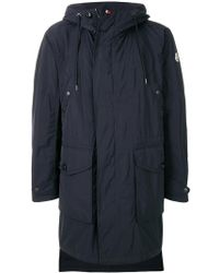 Moncler | Classic Zipped Coat | Lyst