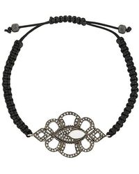 Gemco - Diamond Charm Bracelet - Lyst
