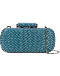 Inge Christopher - Small Woven Clutch Bag - Lyst