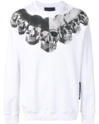 Philipp Plein - Skulls Print Sweatshirt - Lyst