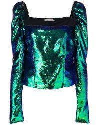 Amen - Sequin Embellished Top - Lyst