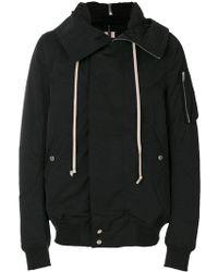 Rick Owens Drkshdw - Hooded Jacket - Lyst