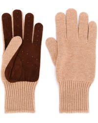 Brunello Cucinelli - Perforierte Handschuhe - Lyst
