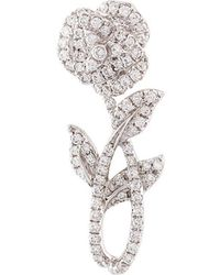 Yvonne Léon   Rose Stem Diamond Earring   Lyst