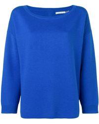 Alice + Olivia - Round Neck Sweatshirt - Lyst