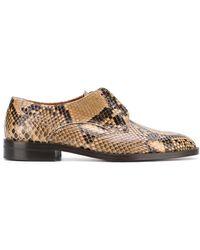 Michel Vivien - Lewin Python Skin Oxford Shoes - Lyst