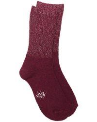 Eleventy - Glitter Detail Socks - Lyst