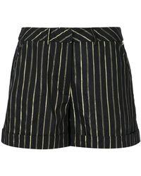 Twin Set - Ts82ve 2282 Jacq Black/gold Natural (vegetable)->cotton - Lyst