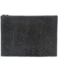 Osklen - Igapo Large Clutch Bag - Lyst