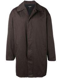 Yeezy - Oversized Coat - Lyst